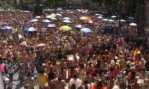 Blocos de rua animam o pré-carnaval do Rio e São Paulo