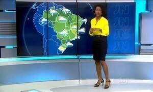 Terça-feira (2) será de chuva em Santa Catarina em no Paraná