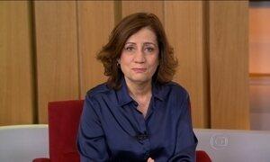 Miriam Leitão comenta a ida da presidente Dilma ao Congresso