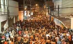Bloco Bicho Terra anima o carnaval em São Luís, no Maranhão