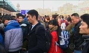 China está às vésperas do Ano Novo lunar, o maior feriado no país