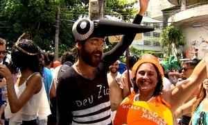 Confira as fantasias que estão chamando atenção no carnaval de rua