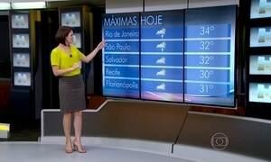Previsão é de noite sem chuva e quente para o 2º dia de desfiles no Rio