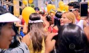 Muitos paulistanos deixam de viajar para aproveitar o carnaval na cidade