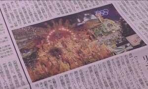 Jornais do Japão falam do carnaval no Brasil