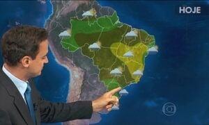 Veja a previsão do tempo para esta quarta-feira (10)