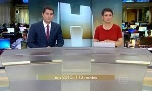 Carnaval já registrou 94 mortes por acidentes