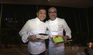 Alex Atala apresenta a culinária brasileira a outros chefs no Japão