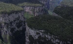 #partiuférias rumo ao Cânion Itambezinho no Parque Nacional de Aparados da Serra, RS