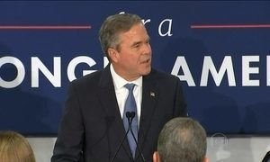 Ex-governador da Flórida desiste da corrida à Casa Branca, nos EUA