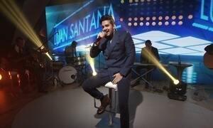 Luan Santana lança música 'Cantada' no palco do Fantástico