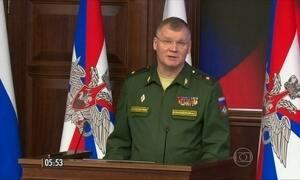 Rússia declara que já começou negociação com grupos rebeldes da Síria