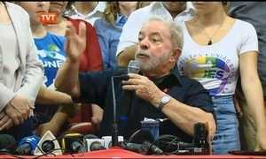 Veja trechos dos discursos de Lula depois de prestar depoimento à PF