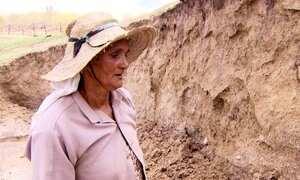 Moradora da região do São Francisco encontra ossada pré-histórica