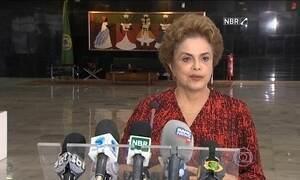 Presidente Dilma fala sobre a nomeação de Lula para ministério