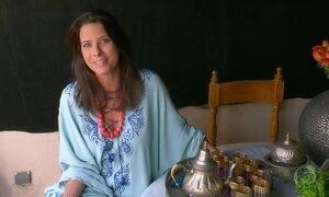 Estilista brasileira vive num palácio do século XVIII em Marrakech