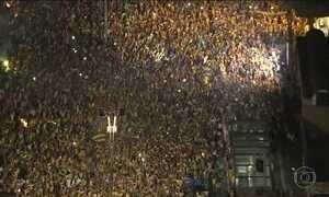 Manifestações em São Paulo reúnem quase 300 mil pessoas