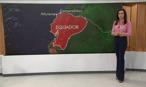 Novo terremoto no Equador dispara alerta de tsunami no Oceano Pacífico