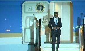 Obama chega ao Reino Unido para visita oficial
