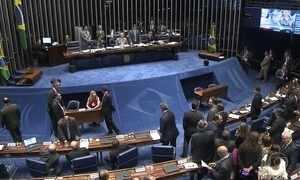 Senado elege membros da comissão do impeachment