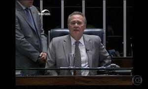 Renan confirma votação do relatório do impeachment para esta quarta (11)