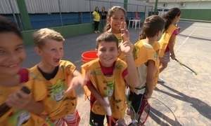 Instituto Guga Kuerten atende alunos da rede pública de Florianópolis