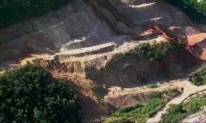 Na sede da Olimpíada, licença ilegal autoriza extração de terra de obras