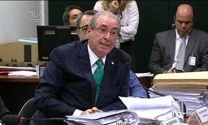 Cunha depõe no Conselho de Ética e nega ter contas bancárias no exterior