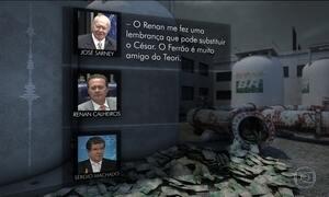 Gravações indicam ação de Renan e Sarney para interferir na Lava Jato