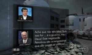 Sarney e Machado reclamam de 'ditadura da justiça'