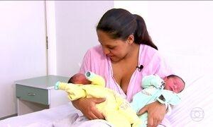 Conheça a história da mulher que deu à luz gêmeos pela terceira vez