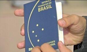 Emissão de passaporte demora até três meses em algumas capitais