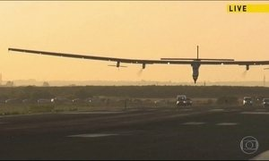 Avião movido a energia solar cruza o Atlântico: de Nova York a Sevilha