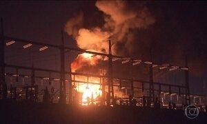 Incêndio em subestação de energia provoca apagão no centro de Brasília
