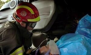 Hoje é dia de bombeiro: salvamento de acidente