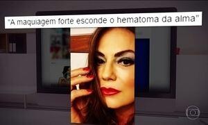 Justiça manda empresário ficar longe de Luiza Brunet