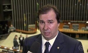Rodrigo Maia (DEM) é o novo presidente da casa