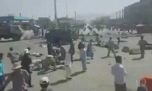 Estado Islâmico assume autoria de ataque com 80 mortos no Afeganistão