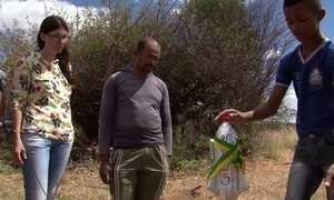 Aluno nota 11: Foguete para reflorestar a Caatinga
