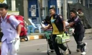 Quatro pessoas morrem e 35 ficam feridas na Tailândia