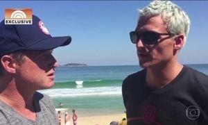 Nadadores dos EUA são assaltados por ladrões que fingiram ser policiais