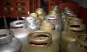 Botijão de gás é um dos itens que mais pesam no orçamento doméstico