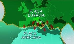 Localização da Itália é explicação para tantos terremotos no país