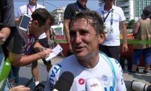 Ex-piloto da F-1 e da Fórmula Indy se torna supercampeão paralímpico