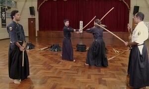 Hoje é dia de artes marciais: arte da espada samurai
