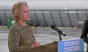 Hillary e Trump trocam acusações após atentado em Manhattan
