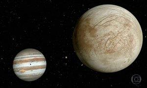 Nasa anuncia que pode haver vapor de água em uma das luas de Júpiter