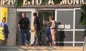 PF prende políticos suspeitos de trocar favores por votos no RJ