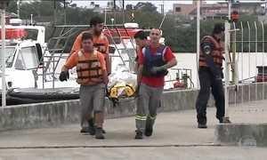 Marinha e Aeronáutica procuram seis pescadores desaparecidos em SC