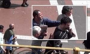 JN flagra ação de ladrões em viaduto de São Paulo